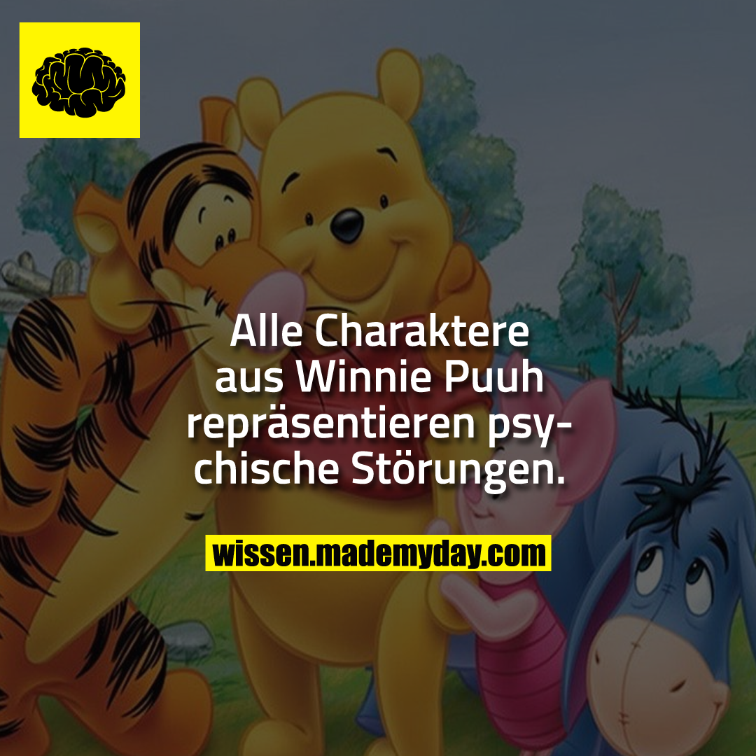 alle charaktere aus winnie puuh made my day. Black Bedroom Furniture Sets. Home Design Ideas