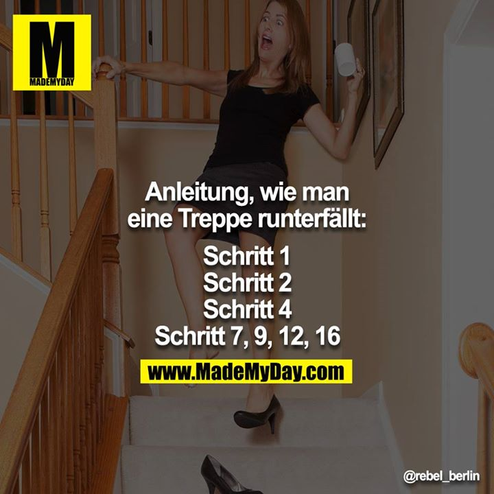 anleitung wie man eine treppe made my day. Black Bedroom Furniture Sets. Home Design Ideas