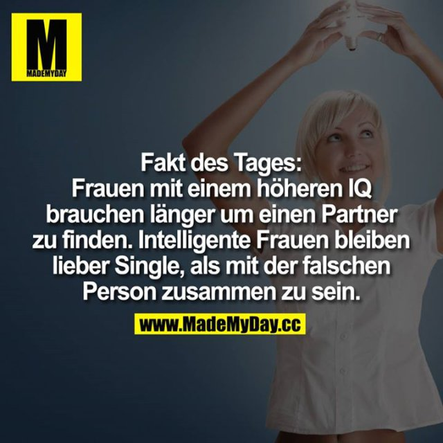 Intelligente frau single
