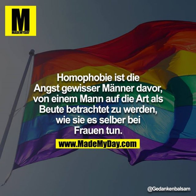 Homophob Englisch