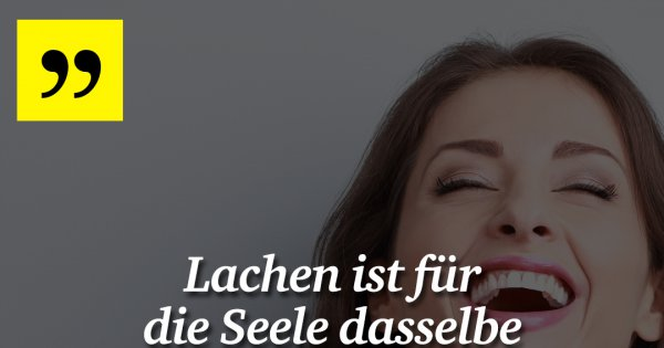lachen ist f r die seele made my day. Black Bedroom Furniture Sets. Home Design Ideas